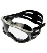 Плавательные очки Saekodive монолинза, для плавания, черный силикон