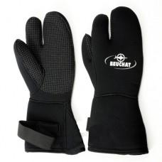 Перчатки трехпалые Beuchat 7мм