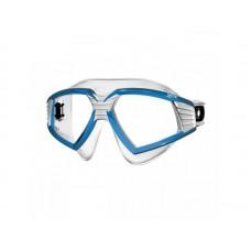 Очки Sonic прозрачный силикон белый синий Seac Sub