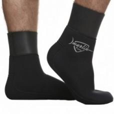 Носки Marlin  ANATOMIC, черные, неопрен, 5mm