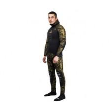 Гидрокостюм для подводной охоты Сенеж камуфляж РДЕСТ 2.0 9 мм