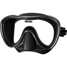 Маска Seac SALINA черный силикон черная