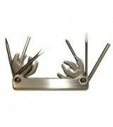 Набор инструемнтов для дайвинга (ключи, отвертки, шыла) saekodive