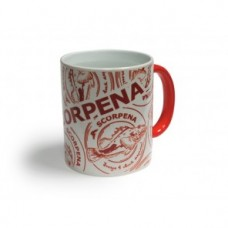 Кружка Scorpena-O 330 ml, красный Хамелеон