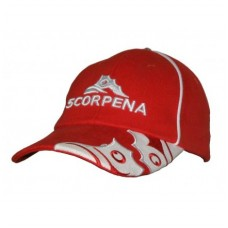 Кепка-бейсболка Scorpena красная