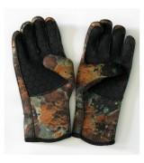Перчатки ВИТЯЗЬ камуфлированные, 5 мм,